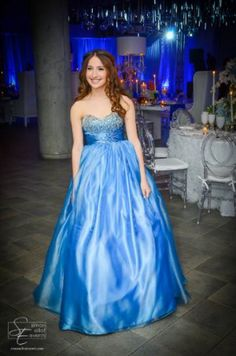 Removable long skirt on Bat Mitzvah dress from Runway Couture.