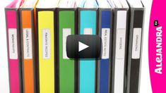 [VIDEO]: Binder Organization with Better Binders from Staples