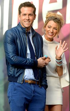 Its the Reynolds! Ryan Reynolds and Blake Lively waved to the crowd at the June 1 Chime for Change: The Sound of Change Live benefit concert in London.