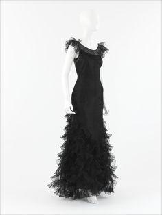 Coco Chanel dress ca. 1932 via The Costume Institute of the Metropolitan Museum of Art