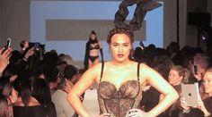 Curvy Couture  - CURVExpo Lingerie Fashion Show, Feb 2014 lingeri video, curvexpo lingeri, lingeri fashion