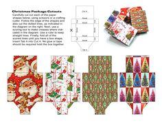 Miniature Christmas Gift Boxes to make