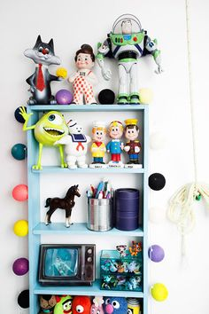 cool display for kids room
