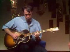 John Fahey on Laura Weber's Guitar TV show 1969. He corrects her the whole time and uses his guitar as an ashtray.