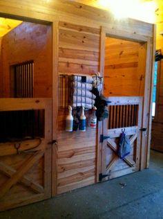 Miniature pony stalls <3 want