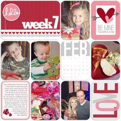 digital project life cards | 02-February Project Life Kit - $2.00 : GG Digital Designs, Digital ...