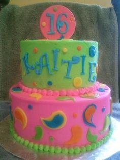birthday parti, 16th birthday, countri color