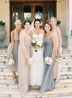 Bridesmaid dresses on pinterest bridesmaid dresses navy for Wedding dresses in west palm beach