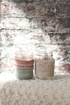 DIY Mason Jar Cozy