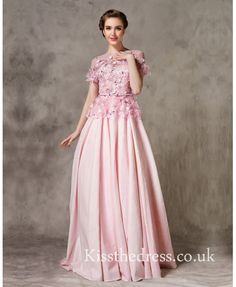 Pink Lace Flower Bal