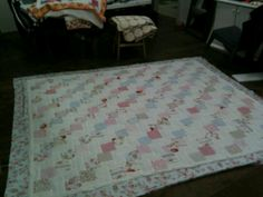 Falling charms quilt.  Beautiful.