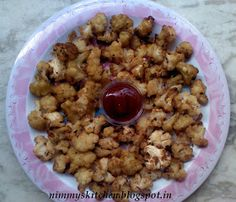 Nimmy's Kitchen: Cauliflower Popcorn