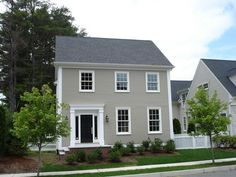 This classic New England Saltbox style home offers timeless style with modern amenities. A new home by Unique Homes. The Olde Village Square community. Medfield, MA.