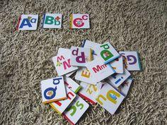 alphabet game for kids