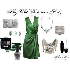 Slug Club Christmas Party (Slytherin Style), created by heroandluna (me)