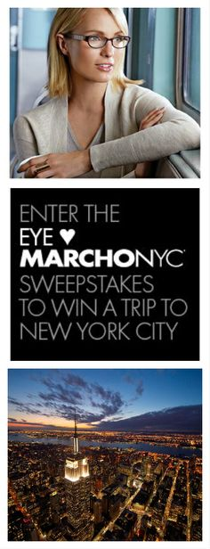 Enter now to #win a trip for 2 to NYC! #NewYorkCity #travel #MarchoNYC