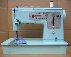 Singer 348 - swoon!
