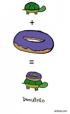 Ever wondered how they came up with the Teenage Mutant Ninja Turtles? Here's one theory (just for fun, of course) ...