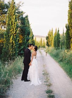 Elegant Tuscany Villa Wedding via oncewed.com