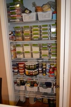 Organizing a Small Pantry