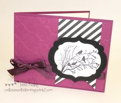 Serene Silhouettes :: Confessions of a Stamping Addict Lorri Heiling