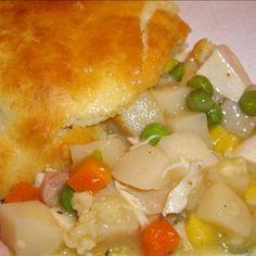 Easy Bisquick Chicken Pot Pie Recipe - ZipList