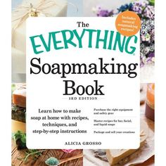 Learn how to make soap at home with recipes, techniques, and step-by-step instructions. Purchase the right equipment and safety gear. Master recipes for bar, facial, and liquid soaps. Package and sell your creations. Create beautiful, natural soaps without leaving home! Ever wonder what's really in your store-bought soap? Once you start making your own soap, you'll never have to wonder again! The Everything Soapmaking Book, 3rd Edition is a comprehensive guide to making all kinds of soap, whethe