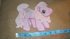 My Little Pony Iron on Applique by lucylynn on Etsy, $3.00