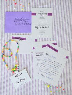 free printable bachelorette invitation suite