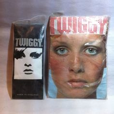 ©1960s TWIGGY tights & streakers made for England market Mod Fashion Model