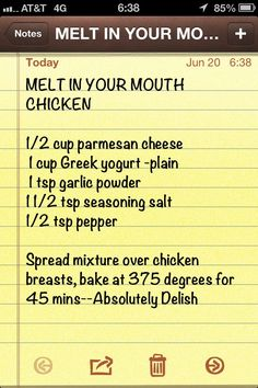 Low carb melt in your mouth chicken