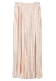 Blush Chiffon Skirt