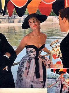 Jacques Fath dress 1954