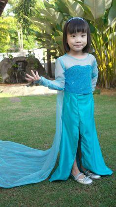 Queen Elsa (Frozen) dress