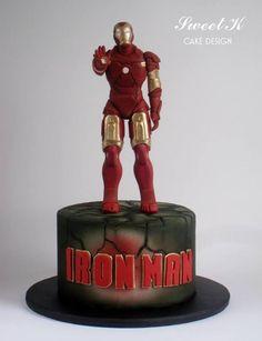 Iron Man Cake super hero, ironman cake, bday, iron man cakes, creative superhero cakes, food, awesom iron, boy, birthday cake