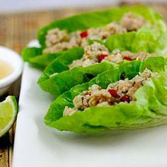 Thai Lettuce Cups