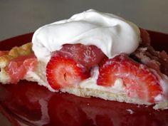 Cream Cheese Strawberry Pie!