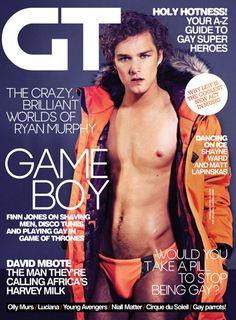 Gay Times - February 13 time magazin, februari 2013, gay time, magazin cover, finn jone, flower, gay pride, februari 13, digit cover