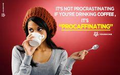 coffee , quotes , procrastinating , lazy