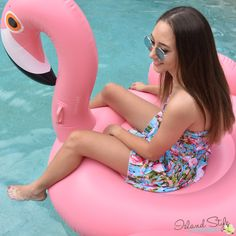 Ladies Flamingo Dres