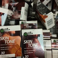 Counter example: Adhesive bandages (appear to) come in at least three skin tones: light, medium, and dark (thanks @ queerasfoucault)
