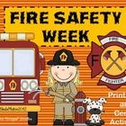 Your students will be on fire when they complete these printables and center activities during Fire Safety Week!