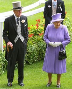 Queen Elizabeth and Prince Phillip at Royal Ascot   ascot 2012