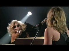 Lady Gaga & Sugarland - You And I (2011 Grammy Nominations Concert) HD 720p