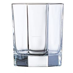 Luminarc  Octime tumbler 300ml    Add dimension and depth to any concoction with this double-old fashioned tumbler. The Octime tumbler from Luminarc evokes thought with its multi-faceted demeanour, chiselled to bring a charming play of light to any of its fluid companions.