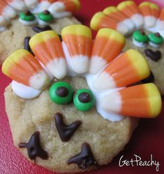 Turkey Sugar Cookie Recipe