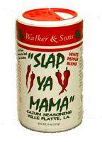 Slap Ya Mama Cajun Seasoning White Pepper Blend « Lolly Mahoney