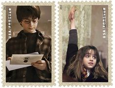 The USPS is releasing Harry Potter stamps
