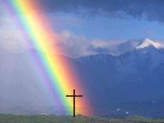 God gives us rainbows...no pot of gold needed.