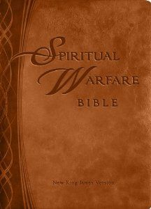 Spiritual Warfare Bible: New Kings James Version (Brown) by Charisma House. $37.79. Publisher: Charisma House; Brown Imitation Leather edition (August 7, 2012). Publication: August 7, 2012